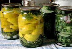 Kimchi, Bon Appetit, Preserves, Pickles, Cucumber, Zucchini, Mason Jars, Food And Drink, Canning