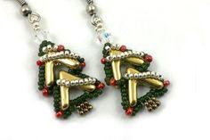 Beading4perfectionists: AVA goes..., 'Noël'. AVA beads beading pattern tutorial PDF file by b4pbakup on Etsy https://www.etsy.com/listing/477495620/beading4perfectionists-ava-goes-noel-ava