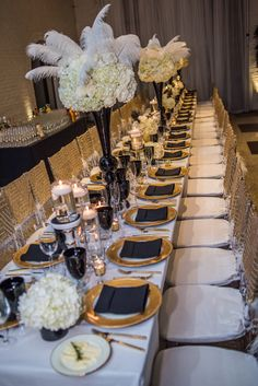 Dinner Table Set Up Great Gatsby Theme By Adexperience Events