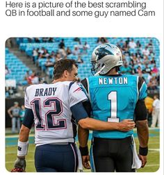 Sports Memes, Nfl Sports, Nfl Football, Panther, Tom Brady Nfl, Peyton Manning, Funny Tattoos, Guy Names, New York Mets