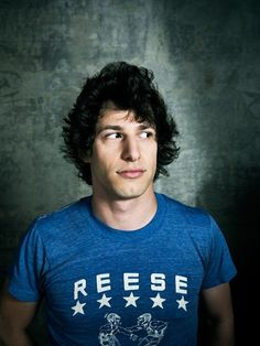 Andy Samberg, what can I say? Goofy nerdy boys are hot! Lol