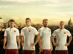 ad3d6466ce AS Roma and City of Rome Unite in new Nike Away Kit for Subtle detailing  and flashes of classic Giallorossi colors invigorate AS Roma away kit.