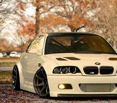BMW white with black rims slammed My Dream Car, Dream Cars, E60 Bmw, E46 M3, E46 Touring, Slammed Cars, Bmw Performance, Bavarian Motor Works, Bmw Love