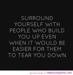 Surround Yourself! IF they talk about others THEY WILL talk about you! Even one time is enough to distance yourself! If the post vague negative facebook status stuff get the hell away from them! That screams insecure mental mess with no legit backbone! Seriously keep that crap out of your life! They are not cool funny or confident! If so they would say that to someone's face and not need social media to do it! ~ Jenett Purvis~