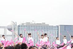"""2017年8月4、5、6日に東京お台場・青海周辺エリアにて日本最大級のアイドルフェス「TOKYO IDOL FESTIVAL2017」(以下TIF2017)が開催。 2日目となる5日には、SKY STAGEにてさくら学院が登場。 オープニングでは学校のチャイムの音が響くとメンバー達の雑談の声が聞こえる。内容は身長についてだが、山出愛子、日髙麻鈴、藤平華乃、有友緒心、森萌々穂、田中美空が登場すると、この6名が同じくらいの身長という会話が展開していく。 そんな内容の小芝居。最後のセリフは低めの身長に「""""背伸びの分だけ大きくなれれば""""いいね」と『負けるな!青春ヒザコゾウ』の歌詞とリンクさせ、そのままライブへ。 1曲を披露した後は、簡単な自己紹介に声援が飛ぶと、芝居は実話であることを話す。そんな6人を見て、さくら学院転入からグングン成長した吉田爽葉香は得意げな表情を見せて、さくら学院で1番背の高い岡田愛を「追い抜いていきたいと思いまーす」とおどける。 再びライブでは「勇気を届けられたらいいな」と切ない気持ちを描いた楽曲『Magic Melody』を披露し、最後はピンク..."""