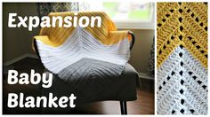 Expansion - Crochet Baby Blanket by Crafting With Claudie -- Miter Square Baby Blanket