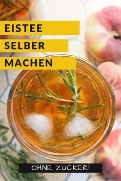 Homemade Peach Pear Ice Tea & Sweepstakes - food and drink Summer Drink Recipes, Summer Drinks, Homemade Iced Tea, Mango Pineapple Smoothie, Lime Soda, Foodblogger, Pear, Fruit, Lifehacks