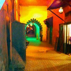 Fantastic lanes of the Medina