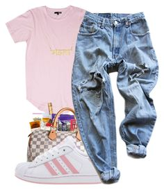 """""""you are love///Fank ocean cover"""" by maiyaxbabyyy ❤ liked on Polyvore featuring adidas and Levi's"""