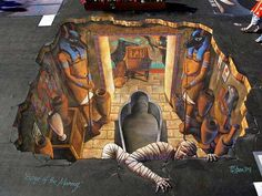 Amazing 3D Street Art Paintings