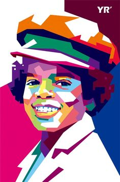 Michael Jackson in Wedha's Pop Art Potrait