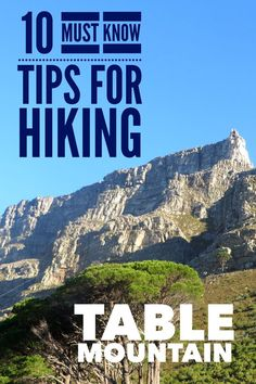 Planning to hike Cape Town's Table Mountain? Learn these valuable tips before attempting the popular Platteklip Gorge route on this famous South African landmark.
