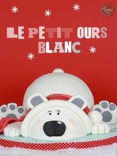 Jean-Pierre, l'ours blanc de Noël - Féerie cakeFéerie cake