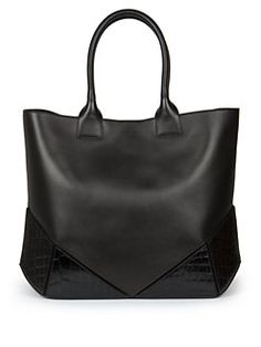 Givenchy - Easy Medium Crocodile-Embossed Tote Givenchy Tote Bag c25db65759d6e