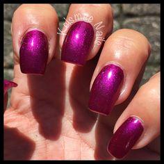 Youngnails acrylic with gelish overlay