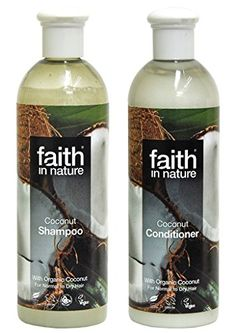 Faith In Nature Coconut Shampoo Conditioner Duo ** You can find out more details at the link of the image. (This is an affiliate link) Organic Hair Care, Organic Shampoo, Hair Shampoo, Shampoo And Conditioner, Coconut Shampoo, Male Grooming, Cruelty Free, Vodka Bottle, Cool Things To Buy