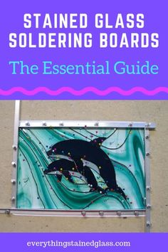 Stained Glass Soldering Boards - The Essential Guide.Homasote board drywall and insulating boards - the best one for stained glass soldering. See how to adapt them to make them better. Making Stained Glass, Stained Glass Lamps, Stained Glass Panels, Stained Glass Projects, Stained Glass Patterns, Fused Glass, Blown Glass, Leaded Glass, Mosaic Patterns