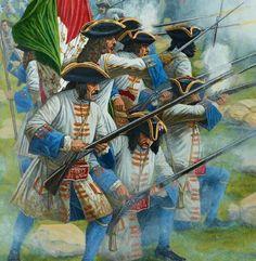 Regiment Du Roi 1706