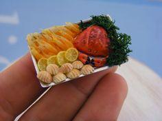Mini Food, Polymer Clay - Mini comida, de arcilla polimérica