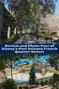 Disney World Resorts: Disney's Port Orleans French Quarter Resort - Click thru for a detailed review, floor plans, and photo tour from yourfirstvisit.net #DisneyWorldTips #DisneyWorldResorts #DisneysPortOrleans Disney World Deals, Disney World Vacation Planning, Disney Vacation Club, Walt Disney World Vacations, Orlando Theme Parks, Orlando Resorts, Hotels And Resorts, Fort Wilderness Resort, Caribbean Beach Resort