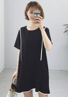 Buy Minimalist Loose Dress | mysallyfashion.com Malaysia