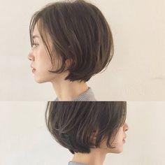 57 hottest short bob haircuts for women 00066 ~ Litledress Bob Haircuts For Women, Short Bob Haircuts, Hairstyles Haircuts, Pretty Hairstyles, Cut My Hair, Love Hair, Midi Hair, Shot Hair Styles, Asian Hair