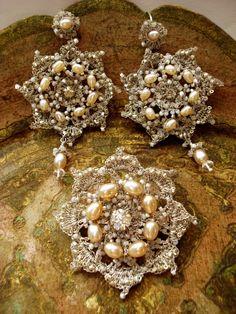 edera rev crochet earrings