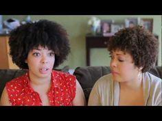 #NaturalHair #KinkyCurly #Demo - Two Sisters Demo Wash-dry 3c-4c Hair    #hairinspiration #natural #demo