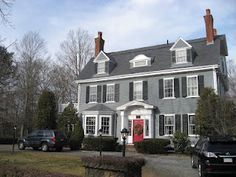 Contemporary colonial exterior exterior paint colors for colonial homes house pinterest for Federal style home exterior paint colors
