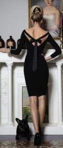 #street #style / own the night black dress
