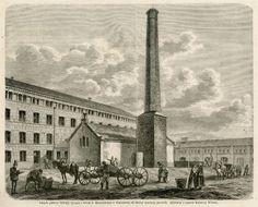 Znalezione obrazy dla zapytania fabryka XIX wiek