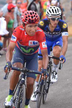 Nairo Quintana Gianluca Brambilla Stage 15 Vuelta 2016 @tdwsport