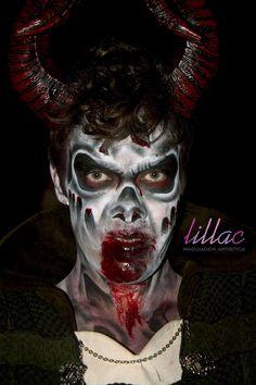 demonio by Lillac Maquiagem Artística #bylillac #livienullmann #lillacmaquiagemartistica