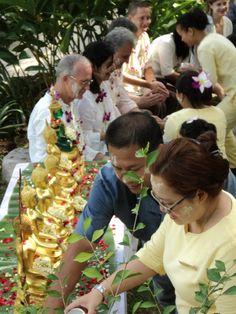 Songkran festival at Kamalaya