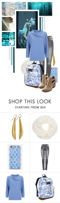 """""""Kida - Disney's Atlantis : The Lost Empire"""" by rubytyra ❤ liked on Polyvore featuring Once Upon a Time, Alexis Bittar, Passigatti, Casetify, ONLY, Armani Collezioni, JanSport, BC Footwear, disney and disneybound"""