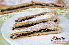Ricetta crostata yogurt Nutella #recipe #ricette
