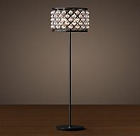 "Spencer Floor Lamp 2995, sale 850 DIMENSIONS Overall: 19¾"" diam., 72""H Weight: 70.8 lbs."