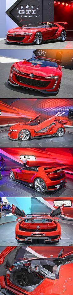 vw-concept-car-gti Este sim, precisa vir ao Brasil... Pois a VW não está com nada com os carros aqui
