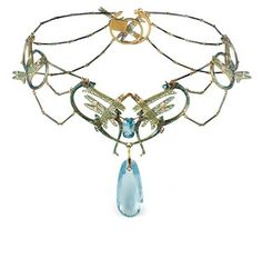 Rene Lalique, 1905, #hermes #tiffany #jewelry