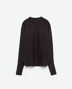 Image 8 of BATWING SLEEVE SWEATER from Zara