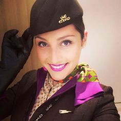 A warm welcome by our Cabin Crew to our guests!  Where are you spending your holidays?
