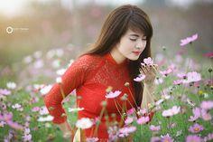Hơi thở mùa xuân   Phôt by Đức Trịnh   Áo Dài Việt Nam - Tôn…   Flickr