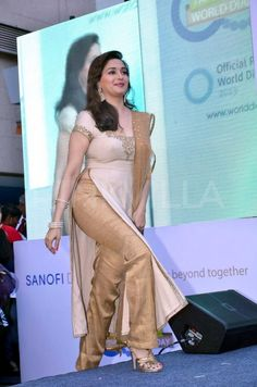 Madhuri Dixit at Sanofi's diabetes awareness event | PINKVILLA