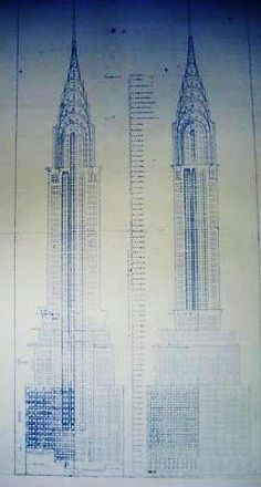 Skyscraper Blueprint Blueprint Capsule Collection Pinterest