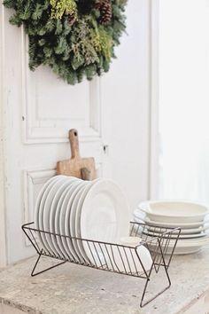 Uma coroa na cozinha