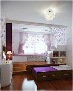 Uitschuifbaar bed voor logeerkamer