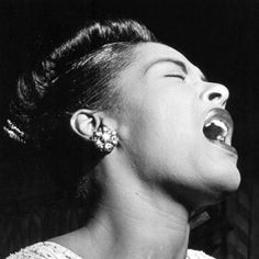Billie Holiday, one of the most influential jazz singers of all time.