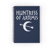 Huntress of Artemis Spiral Notebook