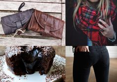 Emy small black and chocolate: those are the must have for this season: a scottish scarf and, naturally, a small mialuis' bag for an amazing night or day.  #outfitideas #mialuis