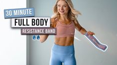 30 MIN INTENSE MINI BAND WORKOUT - Full Body, No Repeats, With Resistance Band